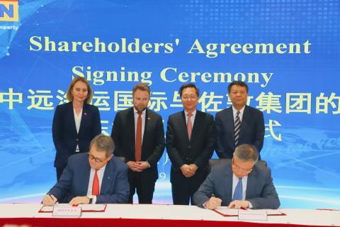 Jotun A/S and COSCO SHIPPING International Hong Kong renew joint venture agreement