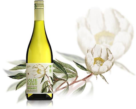 Jolie Fleur Sauvignon Blanc Organic 2013 - Ekologisk septembernyhet  på Systembolaget!