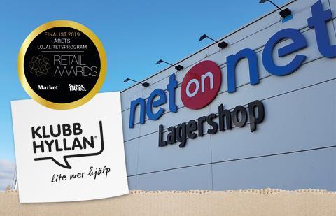 NetOnNet är en av finalisterna i Retail Awards 2019