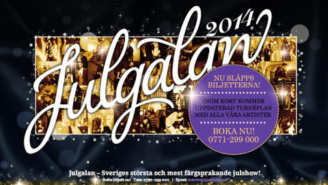 Julgalan - med Sveriges artistelit