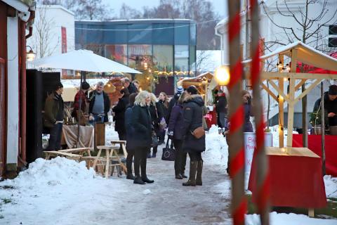 Julmarknad Astrid Lindgrens Näs