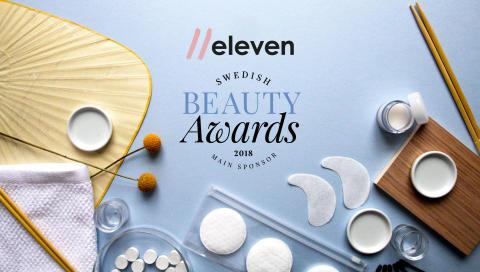 eleven är huvudsponsor för Swedish Beauty Awards 2018