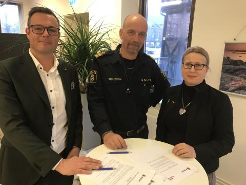 Medborgarlöftet 2020: Fler poliser i stadskärnan