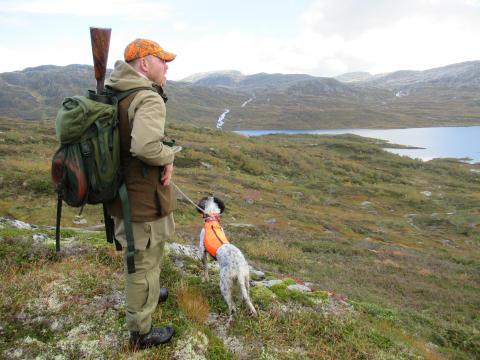 Kristian Eiken Olsen - fungerende jakt- og fiskesjef i Statskog