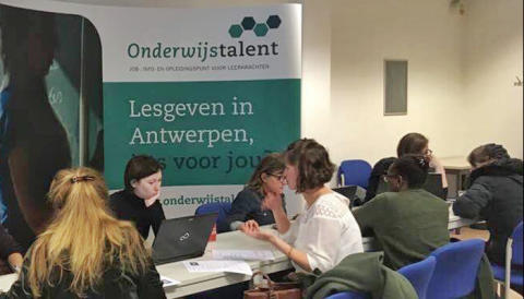 Onderwijstalent organiseert jobdate voor Antwerpse scholen