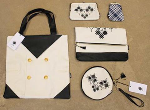 Viking Line skapar sommarhattar och väskor av gamla uniformer