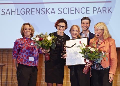 Kamp mot bakterier i Nobels anda