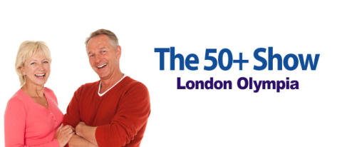 Come and see us at the 50+ Show - London Olympia