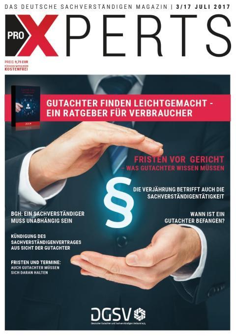 Deutsche Sachverständigen Magazin proXPERTS