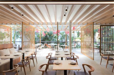 Dekton Nilium at Pipo Restaurante