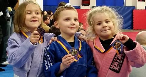 JUNIOR CHAMPIONS CROWNED AT THE SOUTHERN ENGLAND KIDS BJJ (BRAZILIAN JIU JITSU) LEAGUE