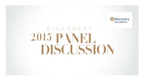 Discovery Foundation Panel Discussion on tuberculosis (TB)