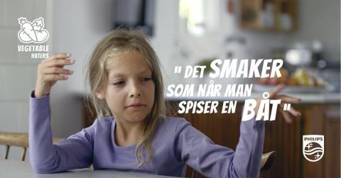 Philips vil hjelpe barna dine å spise grønnsaker