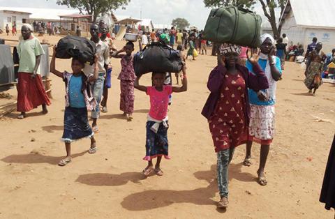 Sydsudanesiska barn på flykt oroar sig för framtiden