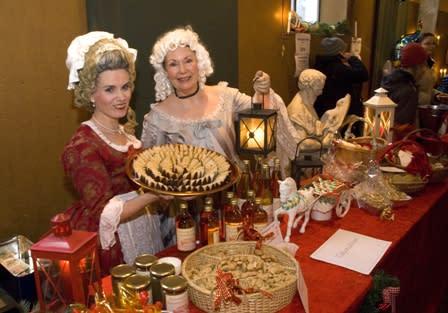 Julmarknad på Tullgarn 2011