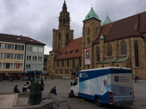 Beratungsmobil der Unabhängigen Patientenberatung kommt am 22. Mai nach Heilbronn.