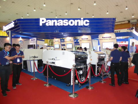 Panasonic features smart factory solutions in NEPCON Vietnam 2015
