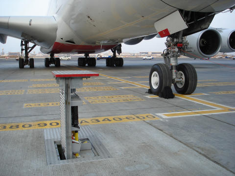 Following news of our acquisition of GSE manufacturer Combibox, here's a shot of one of our in-ground units that service aircraft at airports worldwide