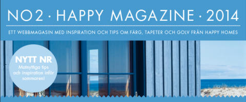 Nytt nummer av Happy Magazine