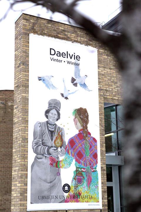 Daelvi – vintern har kommit till campus