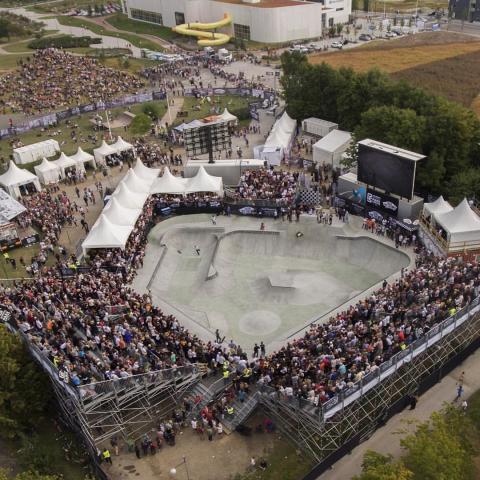 VM i skateboard: pressträff 6 september kl. 17.00