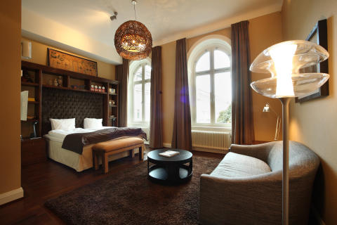 Suite at Lydmar Hotel, Stockholm, by Stylt Trampoli