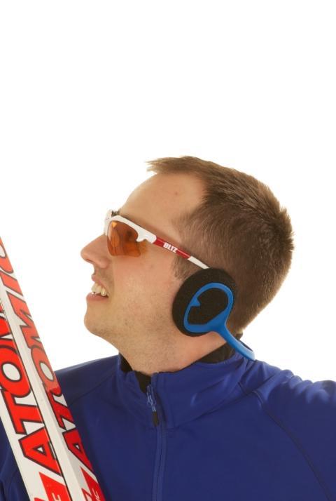Windfree på skidåkare