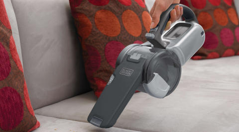 Pack a Punch with New Lithium Cordless Hand Vacs