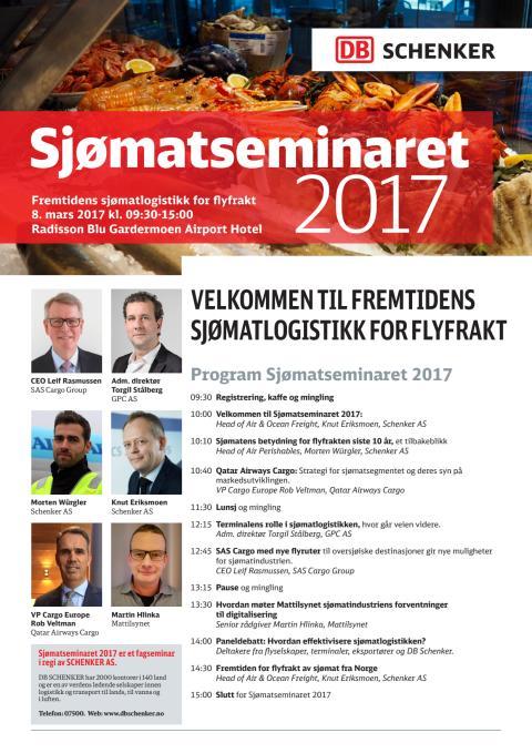 Seminar om flylogistikk for sjømat
