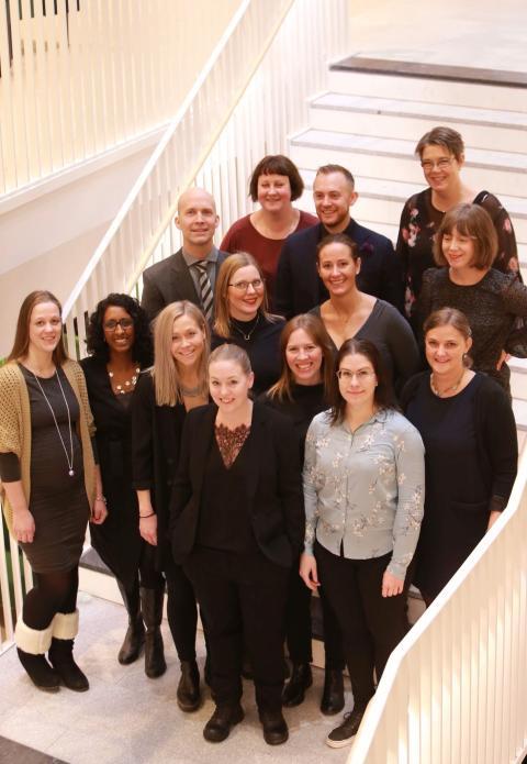Sveriges första specialistutbildade sjuksköterskor inom infektionssjukvård
