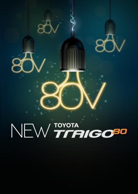 Uusi Toyota Traigo 80 – tuottavampi, turvallisempi ja energiatehokkaampi