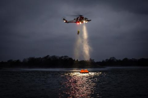 Sjöfartsverket etablerar reservbas för räddningshelikopter i Kristianstad
