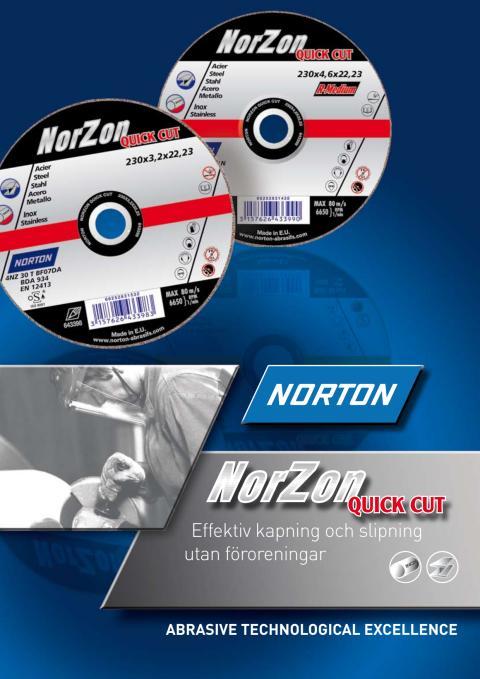 Broschyr NorZon Quick Cut kapskivor & navrondeller