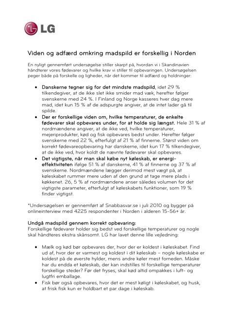 LG I-Project Fact Sheet