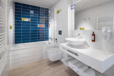 Comfort Hotel Prague City East_Bathroom