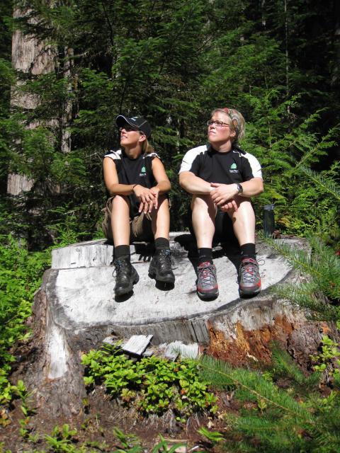 Jägmästarstudenter från Umeå i Kanada:  Sverige ligger före, men vi kan lära av deras miljöarbete