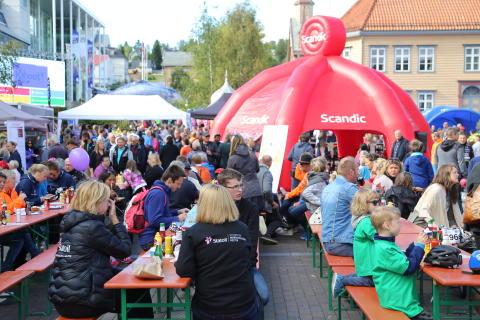 Grillfest i Tromsø