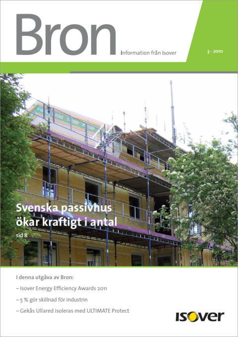 Isovers kundtidning Bron - nr 3 2010