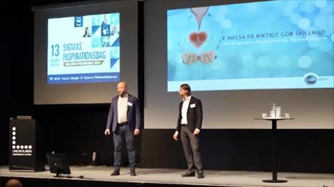 CGM deltog på Sigmas inspirationsdag - visade på hur samarbete mellan aktörer bidrar till direkt patientnytta