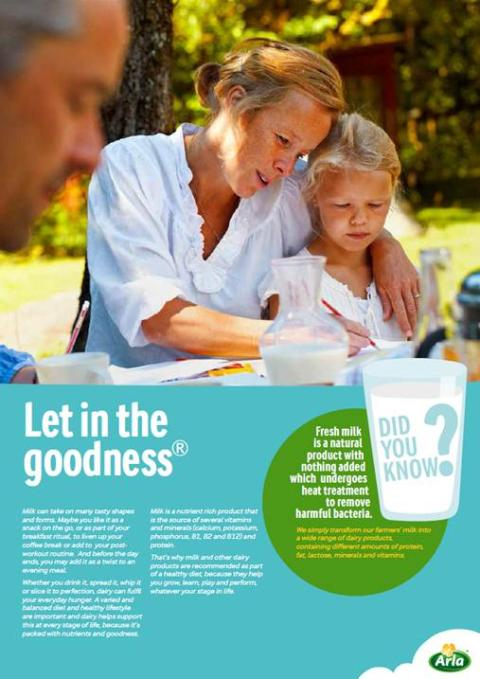 New Arla guide explains the importance of milk