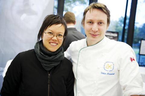 Trendanalytikern Christina Cheng smakade på landslagskocken Viktor Westerlinds charktallrik på Svenskt Kött pressträff #svenskchark