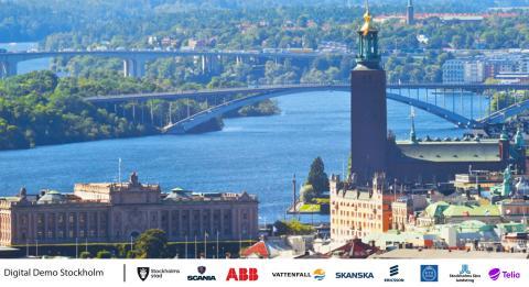 Telia blir en del av den världsunika satsningen Digital Demo Stockholm