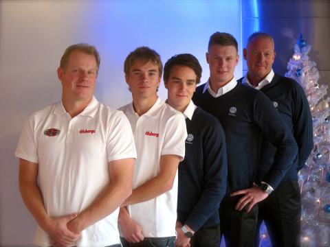 Två tunga team i RallyX Supercar Scandinavia