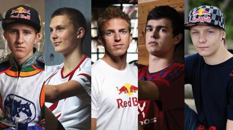 Redbull - De 5 danske talenter