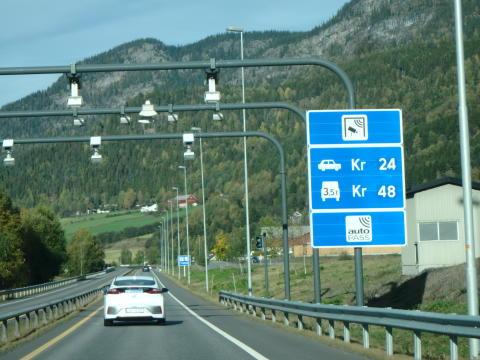Kjørte Oslo-Trondheim t/r på en tank