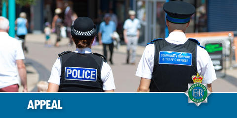 Appeal for information following robbery - Page Moss Lane