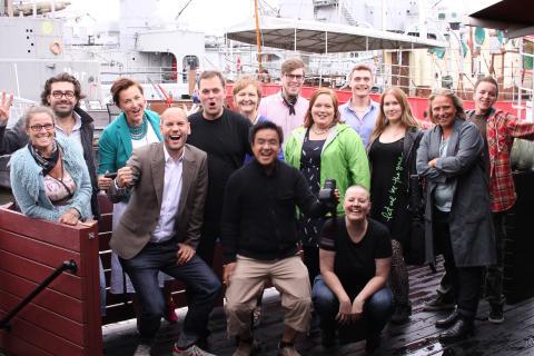 Havskampen Final i Karlshamn: Välgörenhet med målet att utrota utanförskap, till förmån för Ung Cancer