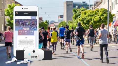 Digital coaching inför Göteborgsvarvet med Racefox