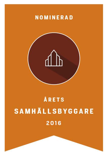 Fyrklövern nominerad till Årets samhällsbyggare