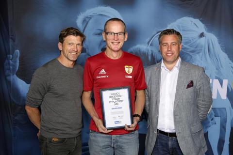 Rikard Nedar, Trollhättans BOIS. Här tillsammans med Jesper Blomqvist och Mikael Tykesson.